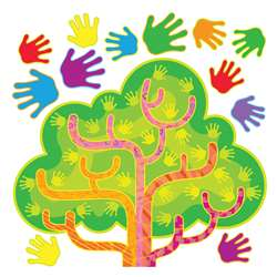 Hands In Harmony Lrn Tree Bulletin Board Set By Trend Enterprises