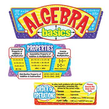 Algebra Basics Bbs By Trend Enterprises