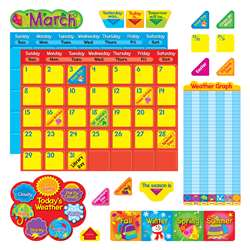 Classic Calendar Duo Bulletin Board Set By Trend Enterprises