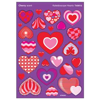 Stinky Stickers Kaleidoscope Hearts By Trend Enterprises