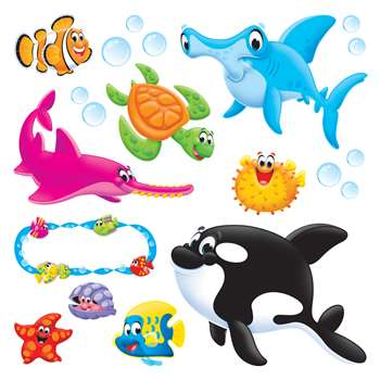 Sea Buddies Bulletin Board Set, T-8304