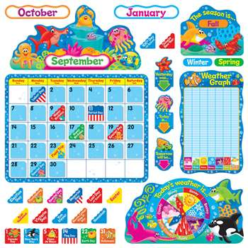 Sea Buddies Calendar Bb Set, T-8306