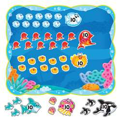 Sea Buddies 0-120 Bulletin Board Set, T-8308