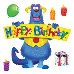 Furry Friends Birthday Fun Bulletin Board Set By Trend Enterprises