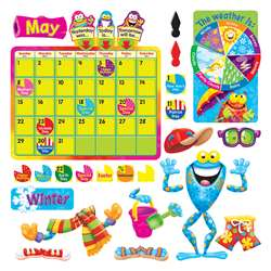 Frog-Tastic Calendar Bulletin Board Set By Trend Enterprises