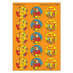 Stinky Stickers Thanksgiving 60/Pk Time Acid-Free Pumpkin By Trend Enterprises