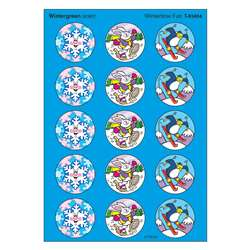 Stinky Stickers Wintertime Fun 60Pk Acid-Free Wintergreen By Trend Enterprises