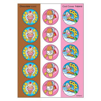 Stinky Stickers Cool Cones By Trend Enterprises
