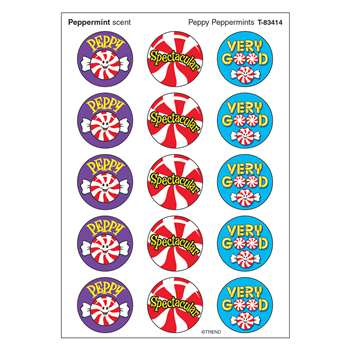 Stinky Stickers Peppy Peppermints By Trend Enterprises