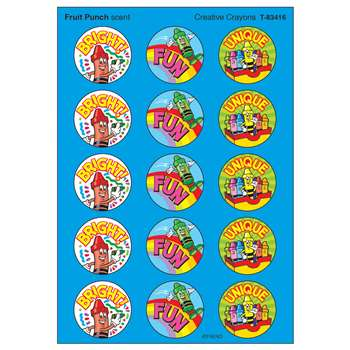 Stinky Stickers Creative Crayons By Trend Enterprises