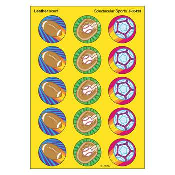 Stinky Stickers Spectacular Sports By Trend Enterprises