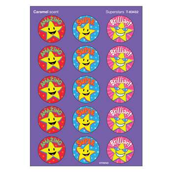 Stinky Stickers Superstars Caramel By Trend Enterprises