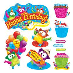 Owl Stars Birthday Bb Set, T-8366