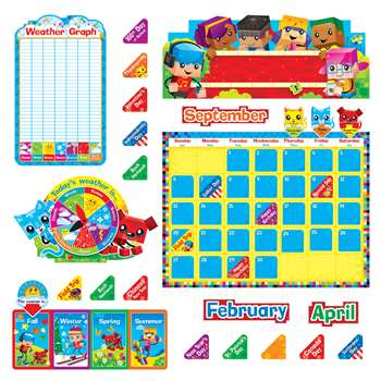 Blockstars Calendar Bb Set, T-8381