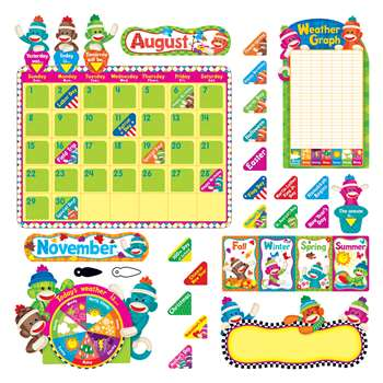 Sock Monkeys Calendar By Trend Enterprises