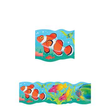 Bolder Border Tropical Fish By Trend Enterprises