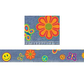 Jazzy Jeans Border By Trend Enterprises