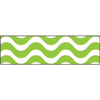 Wavy Lime Bolder Borders, T-85153