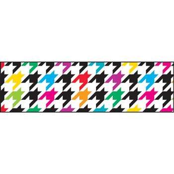Houndstooth Multicolor Borders, T-85166