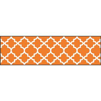 Moroccan Orange Bolder Borders, T-85173