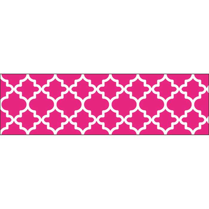 Moroccan Pink Bolder Borders, T-85174