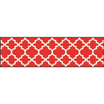 Moroccan Red Bolder Borders, T-85175