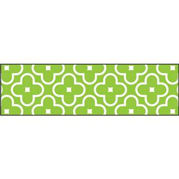 Floral Green Bolder Borders, T-85192