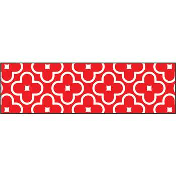 Floral Red Bolder Borders, T-85195