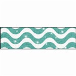 Wavy Teal Sparkle Plus Bolder Borders, T-85416