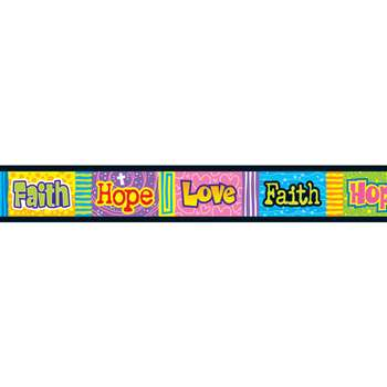 Bolder Borders Faith Hope Love By Trend Enterprises