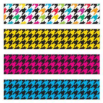 Houndstooth Mix Border Variety Pack, T-85901