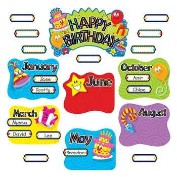Birthday Festival Mini Bbs By Trend Enterprises