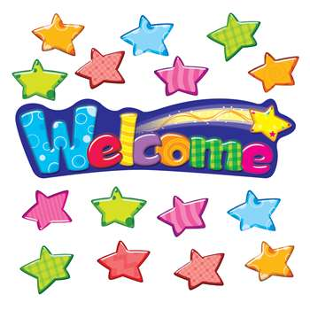 Welcome Stars Mini Bbs By Trend Enterprises