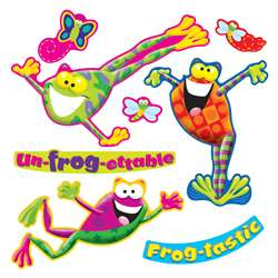 Frog Tastic Mini Bulletin Board Set By Trend Enterprises