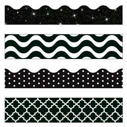 Black & White Border Variety Pack, T-90827