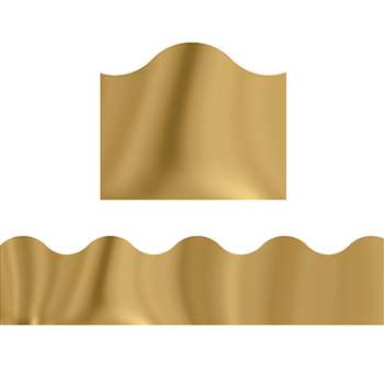Trimmer Gold Metallic By Trend Enterprises