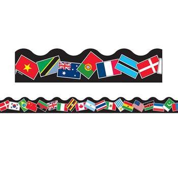 Trimmer World Flags By Trend Enterprises