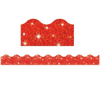 Trimmer Red Sparkle By Trend Enterprises