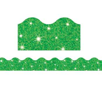 Trimmer Green Sparkle By Trend Enterprises