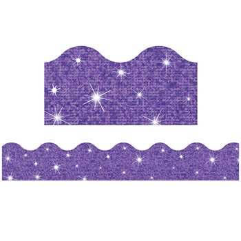 Trimmer Purple Sparkle By Trend Enterprises