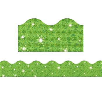 Lime Terrific Trimmers Sparkle, T-91419
