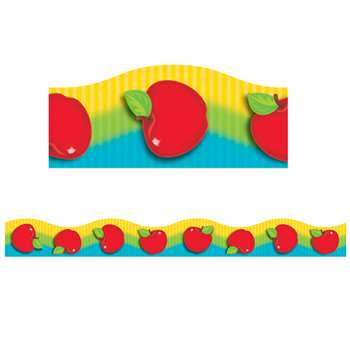 Shiny Red Apples Terrific Trimmers By Trend Enterprises