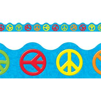 Peace Signs Terrific Trimmers By Trend Enterprises