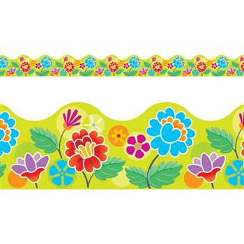 Floral Garden Terrific Trimmers By Trend Enterprises