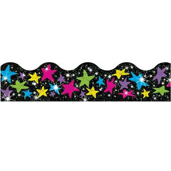 Trimmer Sparkle Stars By Trend Enterprises