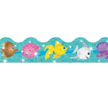 Trimmer Sparkle Fish By Trend Enterprises