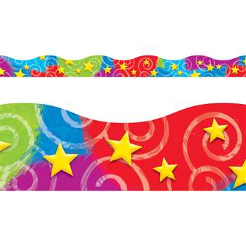 Stars N Swirls Terrific Trimmers By Trend Enterprises