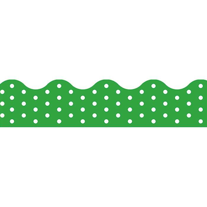 Polka Dots Green Terrific Trimmers, T-92661