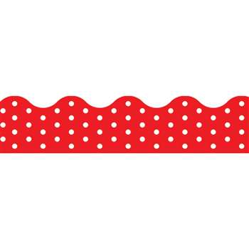 Polka Dots Red Terrific Trimmers, T-92663