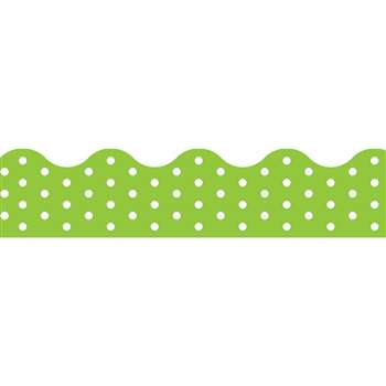 Polka Dots Lime Terrific Trimmers, T-92664